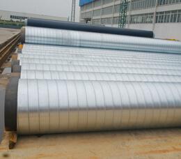 镀锌铁皮聚氨酯保温管
